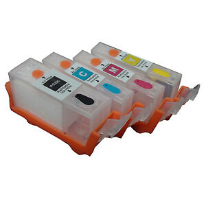 canon diy 4 colors refillable dye ink cartridge ciss instructions