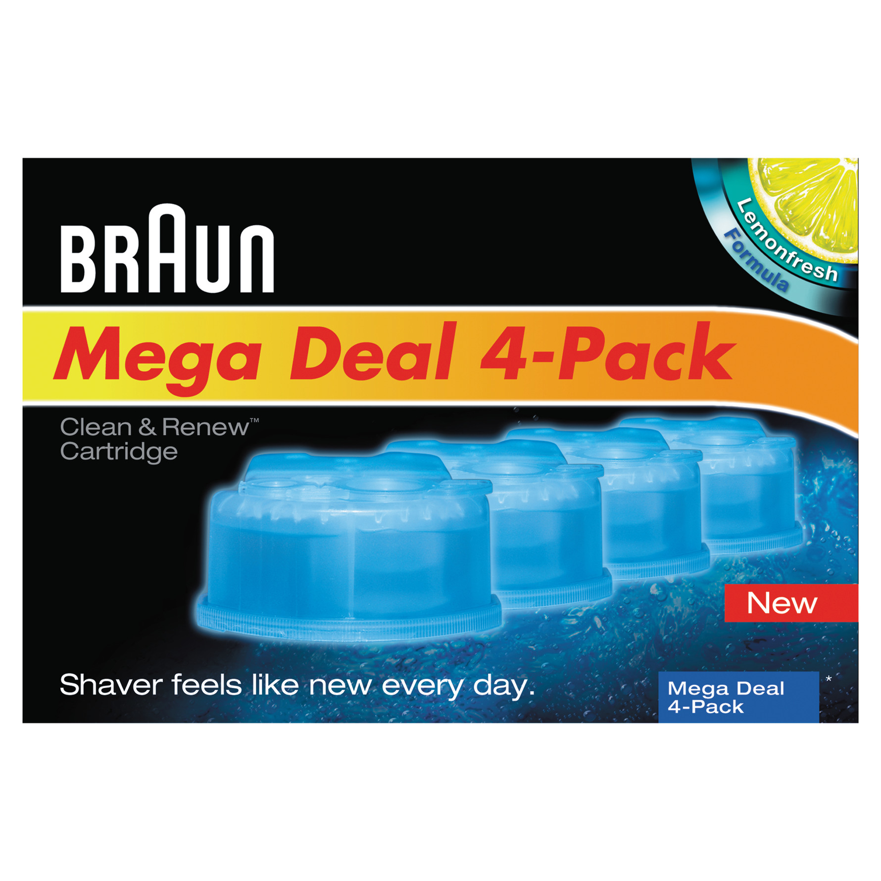 braun clean and renew cartridge instructions