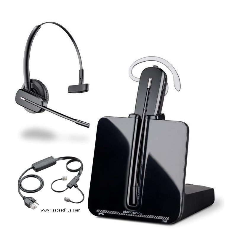 plantronics cs50 headset setup instructions