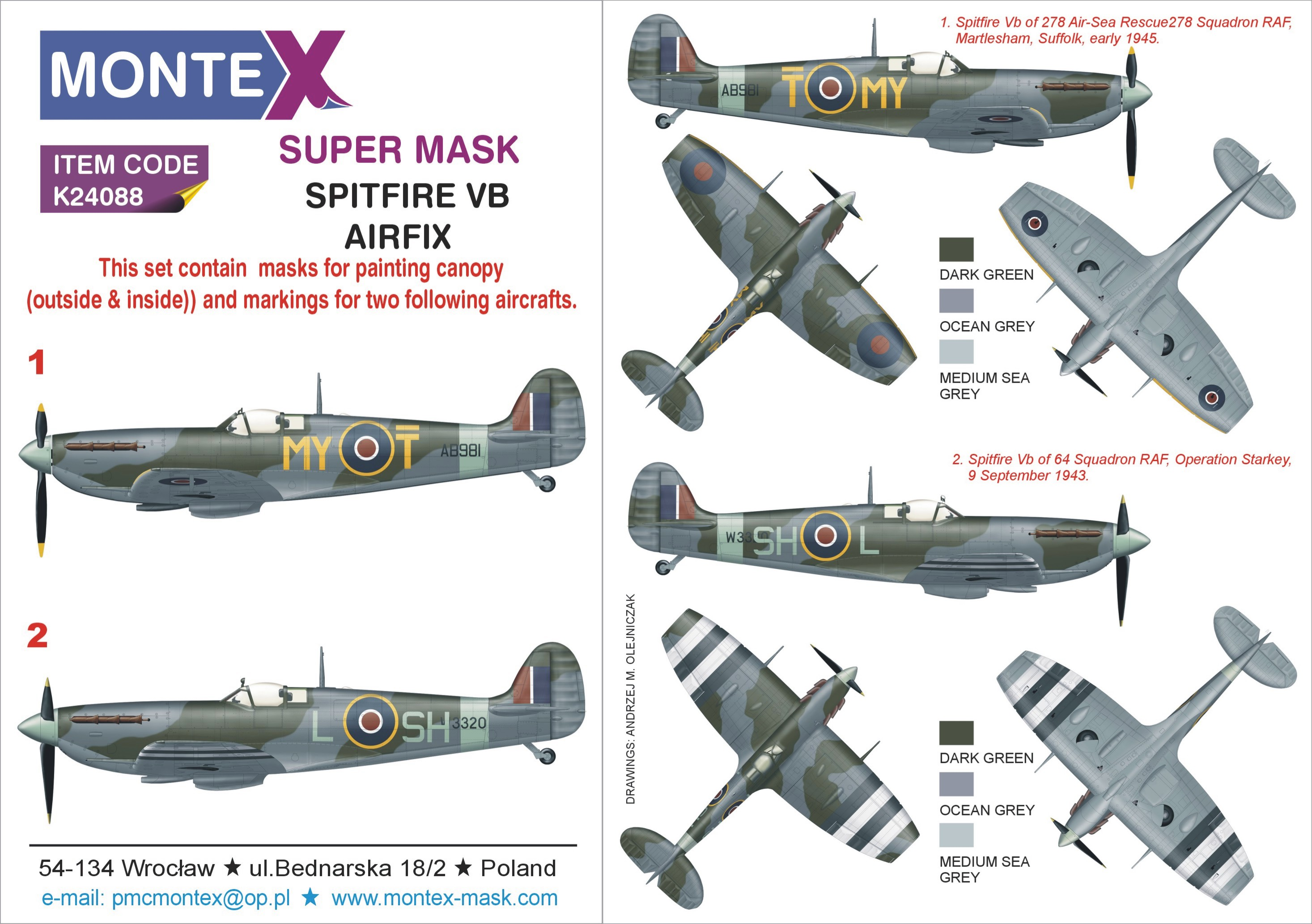 airfix supermarine spitfire mk vb instructions