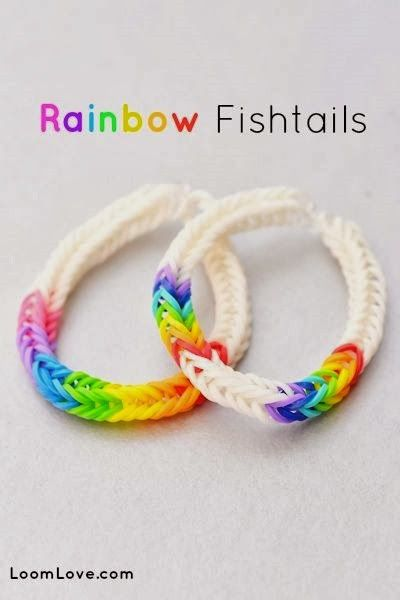 rainbow loom step by step instructions fishtail