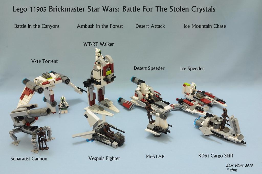 lego star wars book brickmaster instructions