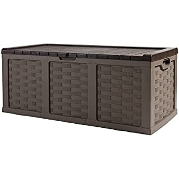 keter rockwood storage box instructions