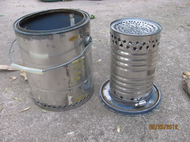diy bushbuddy stove instructions