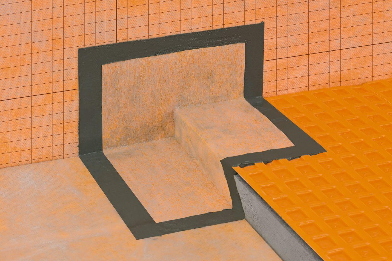 ditra matting installation instructions