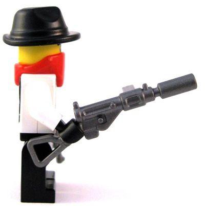 lego minifigure machine gun instructions