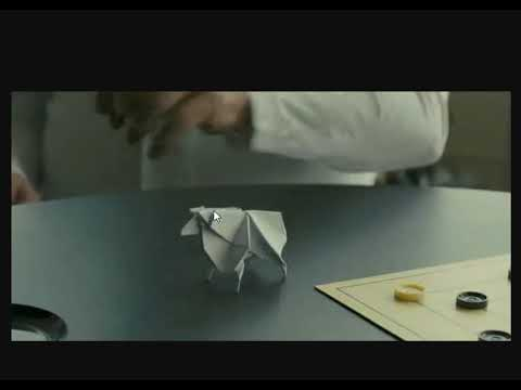 blade runner 2049 origami sheep instructions