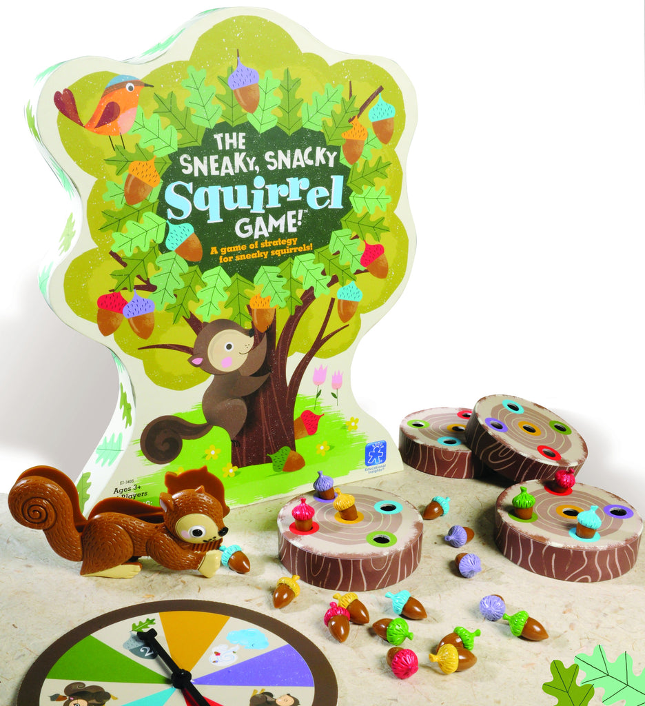 sneaky snacky squirrel card game instructions