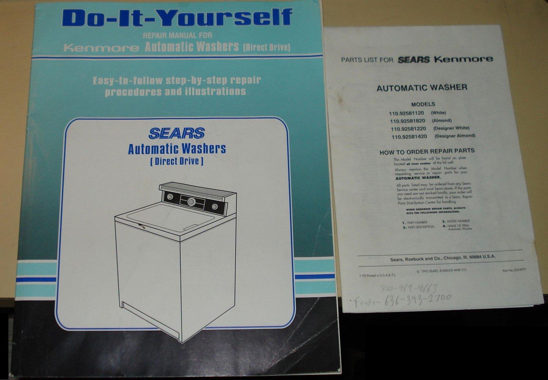 kenmore classic washing machine instructions