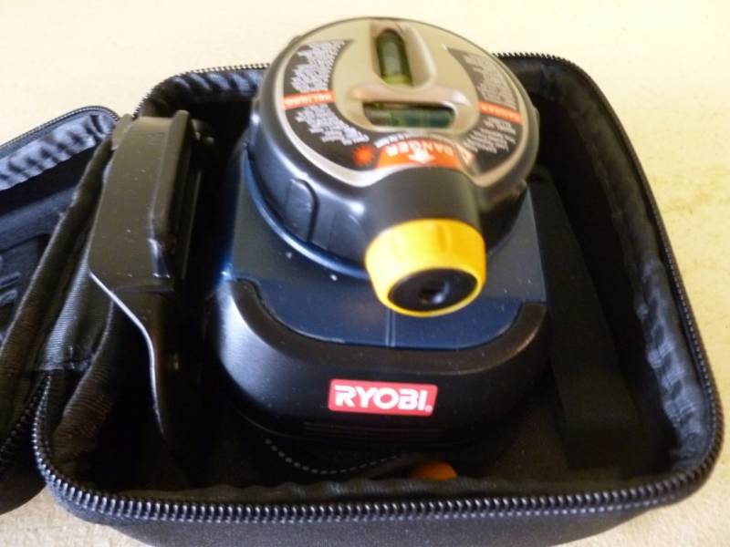 ryobi air grip laser level instructions