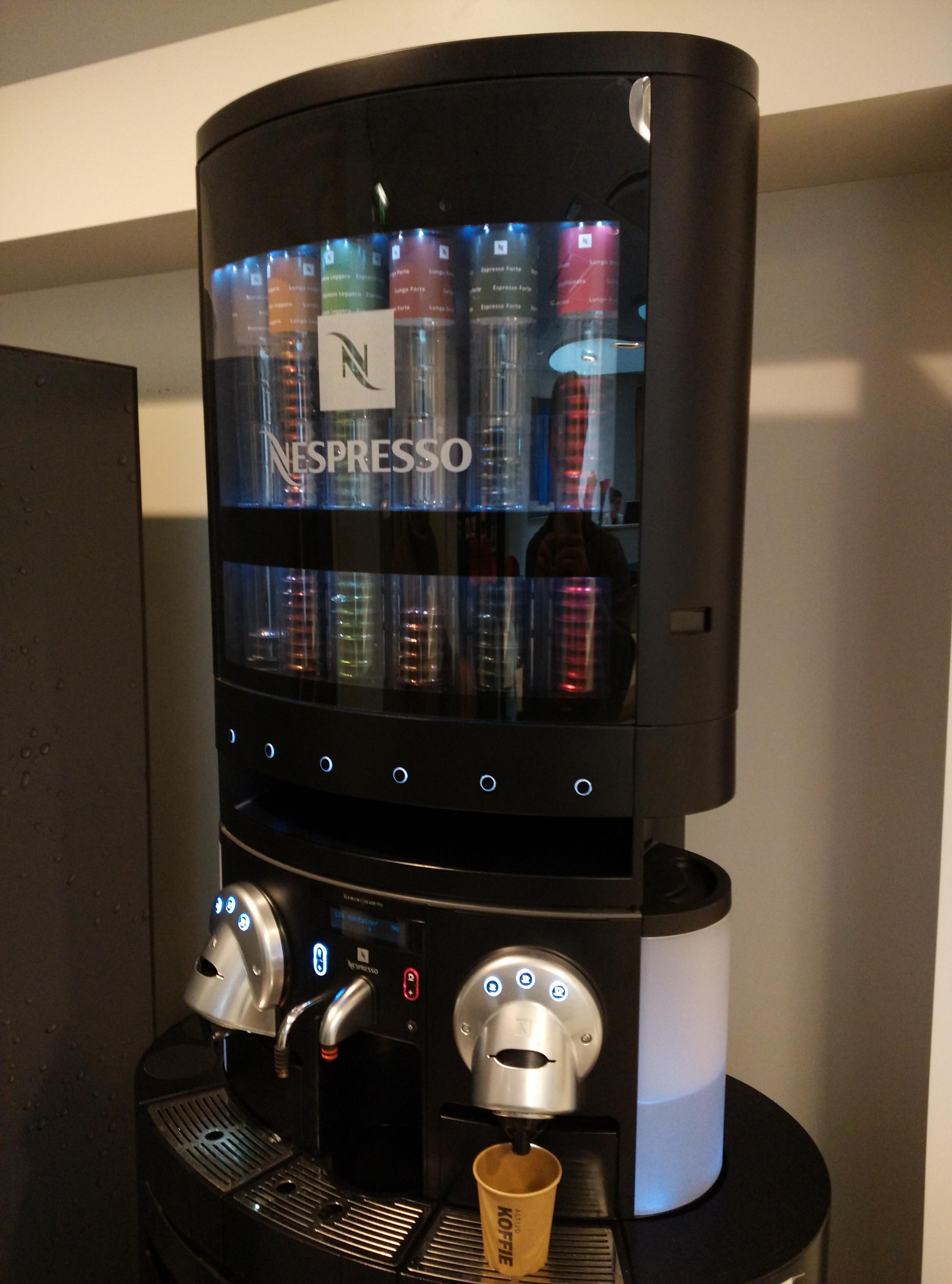 nespresso pod coffee machine instructions