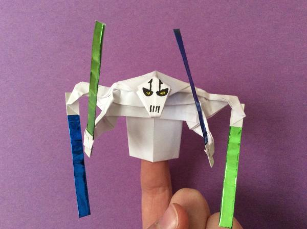 kirigami general grievous instructions