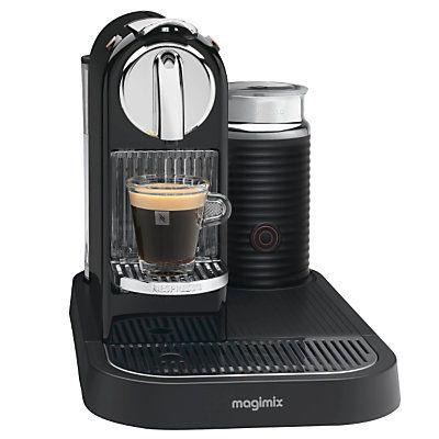 nespresso machine instructions magimix
