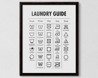 washing instruction symbols korean