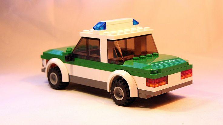 lego police car instruction booklet