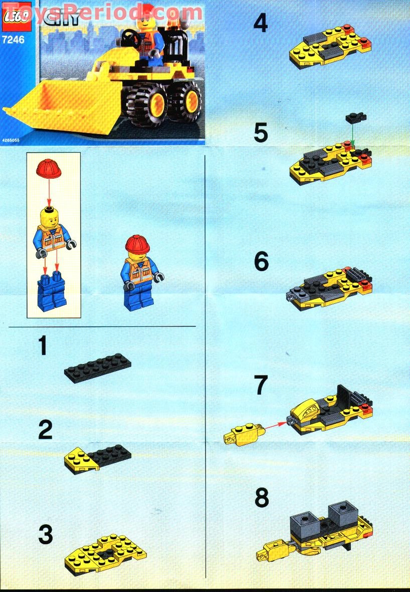 90s lego set instructions