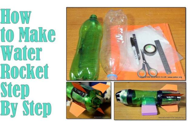 how to make a 2 liter bottle rocket instructions