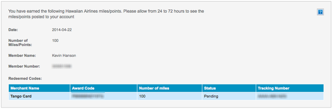 air miles redemption instructions