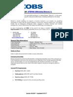 aroc bts-1001 instructions user guide