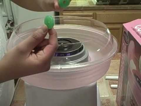 instructions nostalgia cotton candy maker