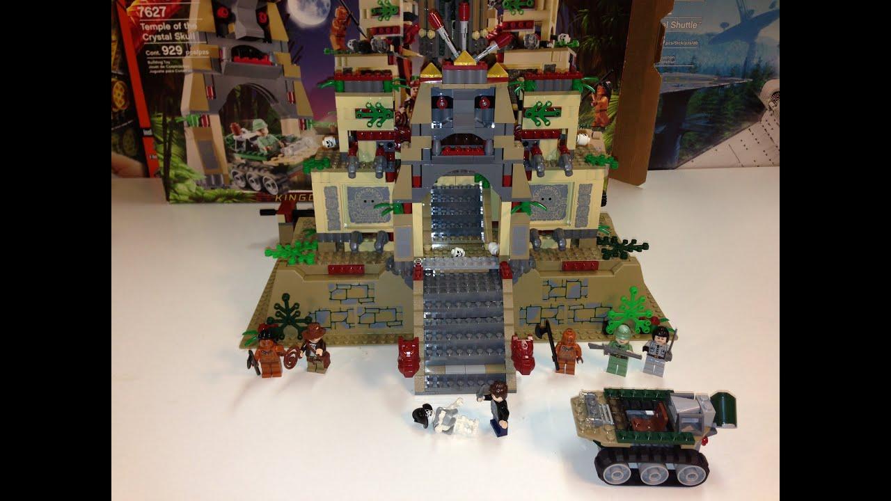 lego indiana jones temple of the crystal skull instructions