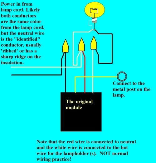 timely control lamp instructions