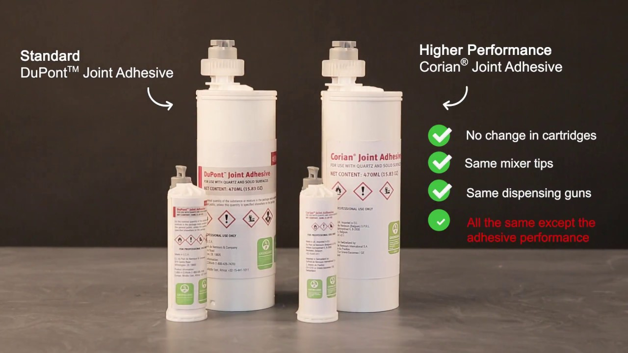 corian joint adhesive instructions