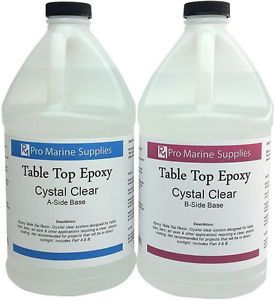 crystal clear epoxy resin instructions