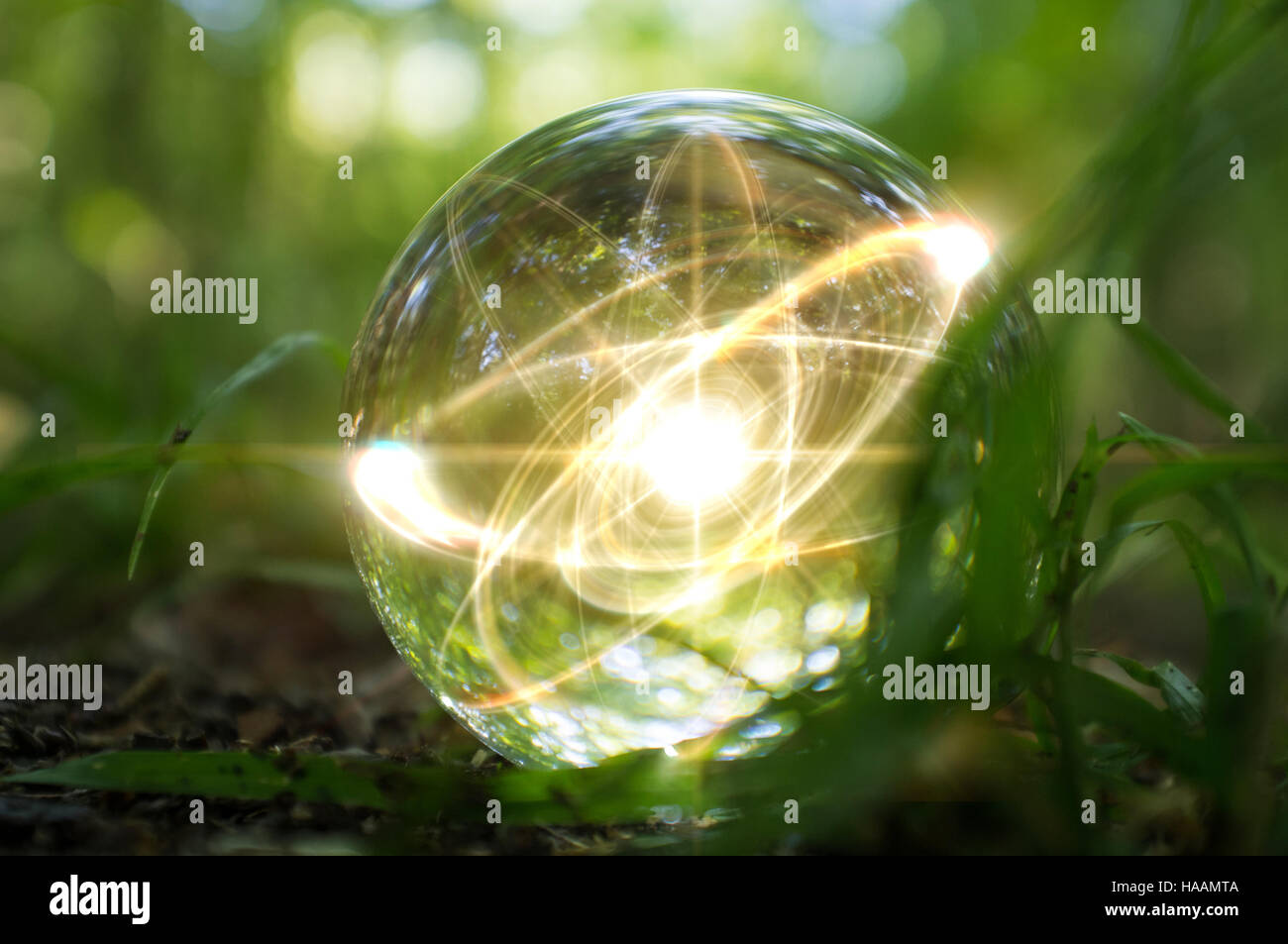 crystal magic ball light instructions