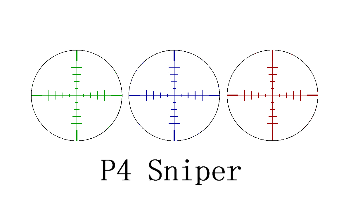 p4 sniper reticle instructions