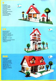 lego friends building sets instructions