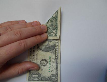money origami heart video instructions