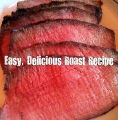 inside round oven roast cooking instructions
