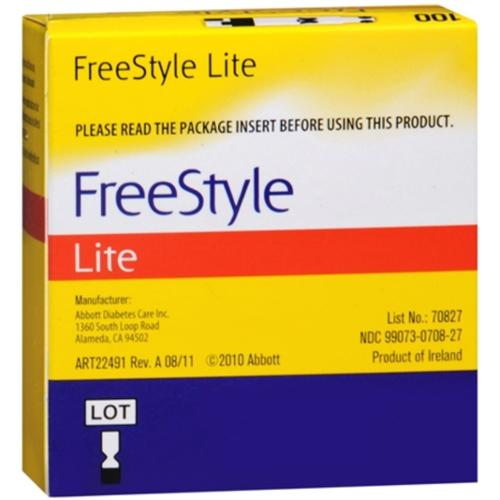 freestyle blood glucose test strips instructions