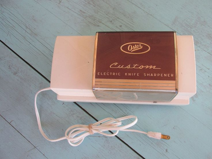 instructions on oster electric knife
