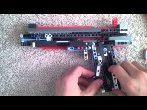 lego blowback pistol mechanism instructions