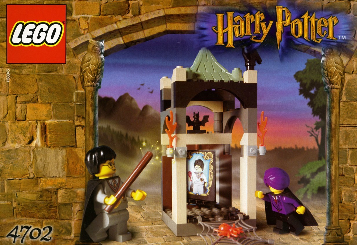 lego harry potter set 4867 instructions