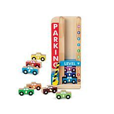 melissa and doug parking garage instructions