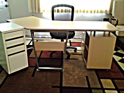 realspace brent desk assembly instructions